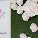 roze wand bij pink ribbon